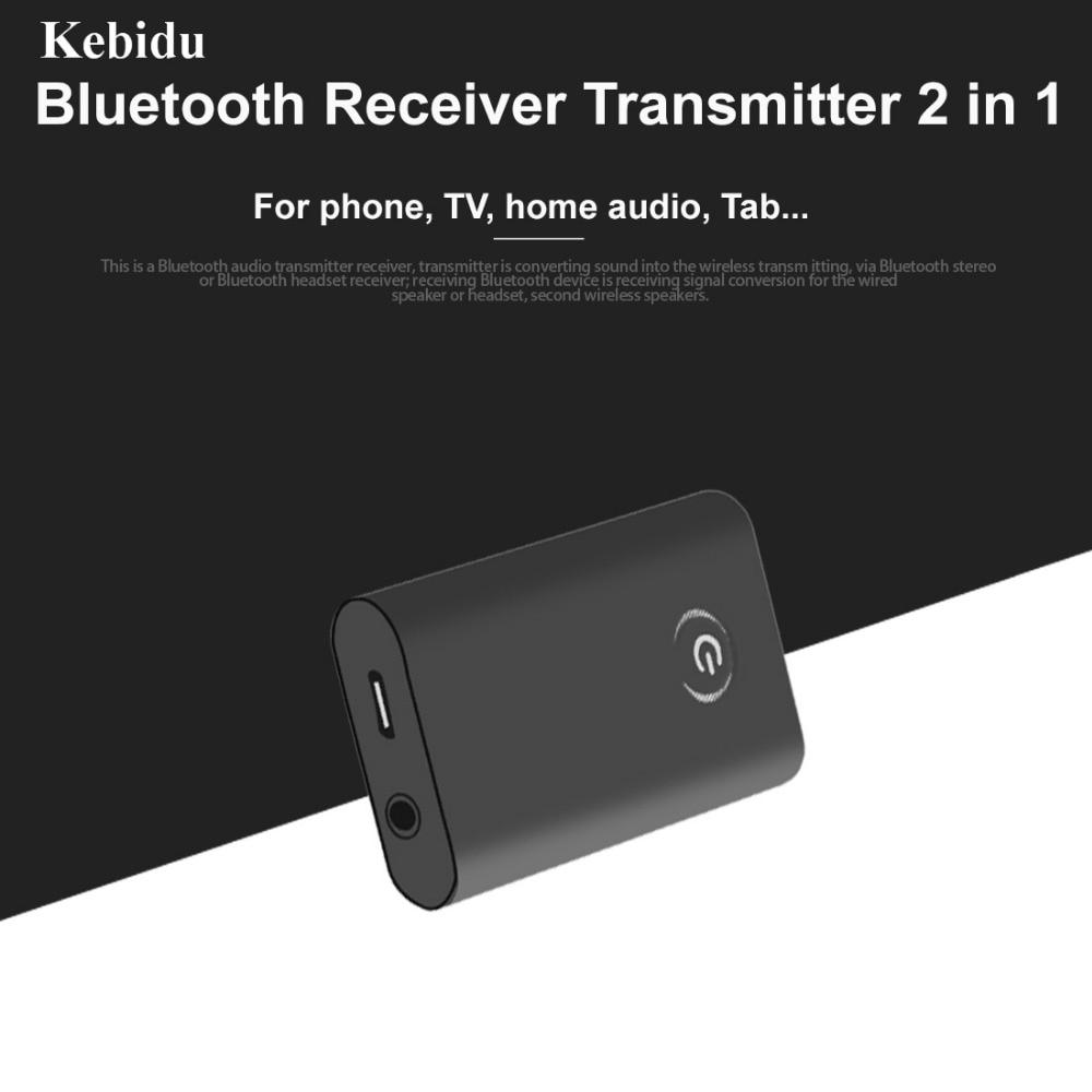 Tragbares Audio & Video Unter Der Voraussetzung Kebidu Neueste Drahtlose Bluetooth V4.0 Audio Transmitter Stereo Musik Transmitter Unterstützung 2 Lautsprecher Eine Lange Historische Stellung Haben