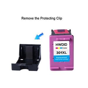 Image 3 - HWDID Nachgefüllt 301XL Tinte Patrone Ersatz für HP 301 XL CH561EE CH562EE für HP Deskjet 1000 1050 2000 2050 2510 envy 5530