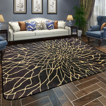 Patterned Area Rugs | WINLIFE European Style Peacock Feather Carpets Colorful Geometric Pattern Rugs Large Area Mats For Parlor/Hotel/Hall Soft Carpet