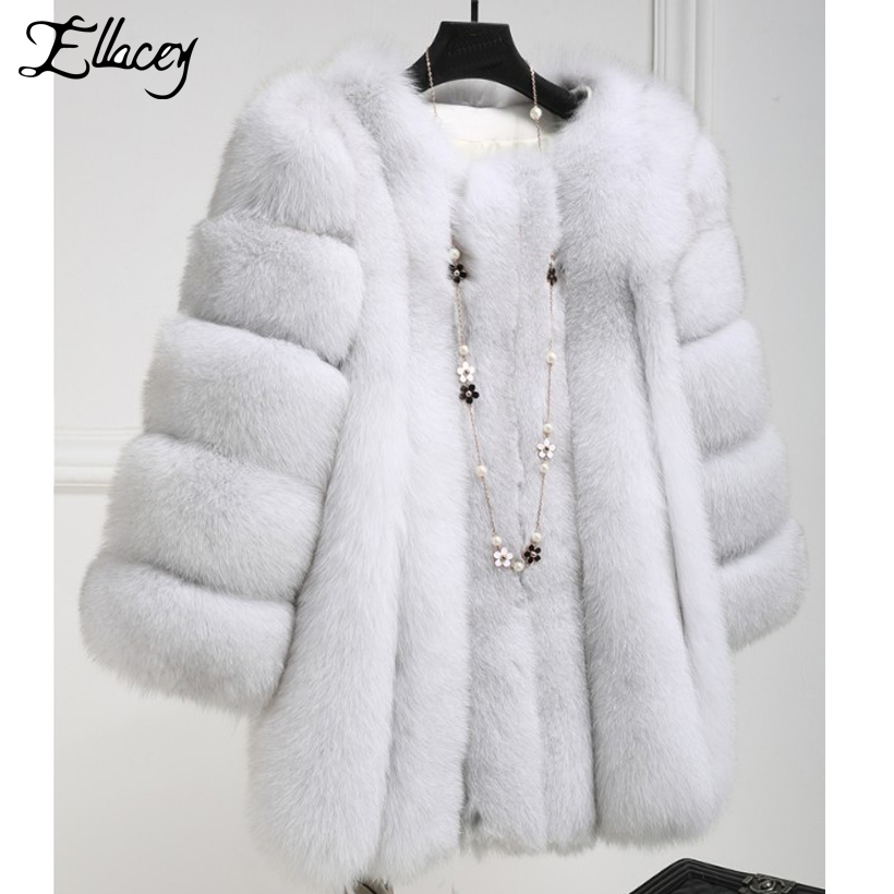 Red De primary Fourrure Luxe Faux Femelle Fur Élégant rose Rose Plus La Artificielle blanc Taille Manteau Color Femmes Haute Red Renard bleu Lady Épais rouge noir Nobal Chaud Purple light Color Imitation wine fox rptrx