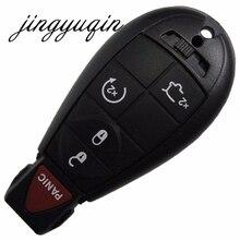 Jingyuqin 5 Пуговицы пульт дистанционного управления для командир Grand Cherokee Оболочки брелок Keyless для джип для Chrysler/Dodge ключ чехол