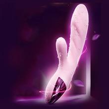 New Multi Functional G Spot Clitoral Stimulator Powerful Magic Wand Safe Dildo Vibrator Intimate Goods Sex Toys Erotic Goods