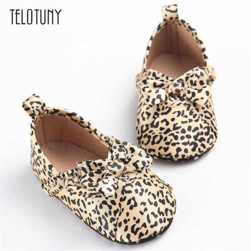 TELOTUNY Baby Toddler Soft Sole Leopard Leather Shoes Infant Boy Girl Toddler Shoes warm comfortable Anti-slip Crib ShoesS3FEB18