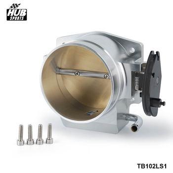 102mm Acelerador Corpo 4 De Alumínio do Parafuso Para A GM LS1 LS2 LS3 LS6 LSX HU-TB1021S