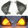 Front Turn Signals Blinker Indicator Led Light Lamp Smoke For 2005 2006 2007 2008 2009 2010 2011 2012 KAWASAKI Ninja ZX636 ZX6R