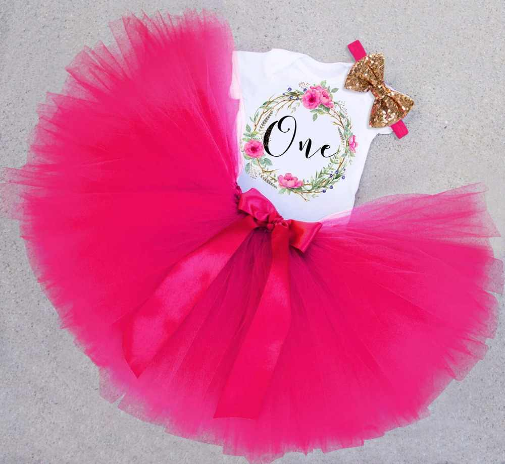 Girl Baby 1st Birthday Party Outfit Mermaid Costume Cake Smash Skirt Clothes Set