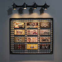 Dl-vintage placa de matrícula de estaño placas de Metal pintura arte Poster Bar Pub garaje decoración de la pared