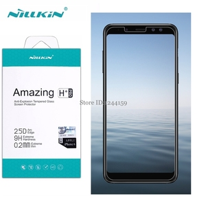 sFor Samsung Galaxy A8 2018 Tempered Glass A8 Plus Nillkin Amazing H&H+Pro Screen Protector for Galaxy A8+ 2018 Protective Film
