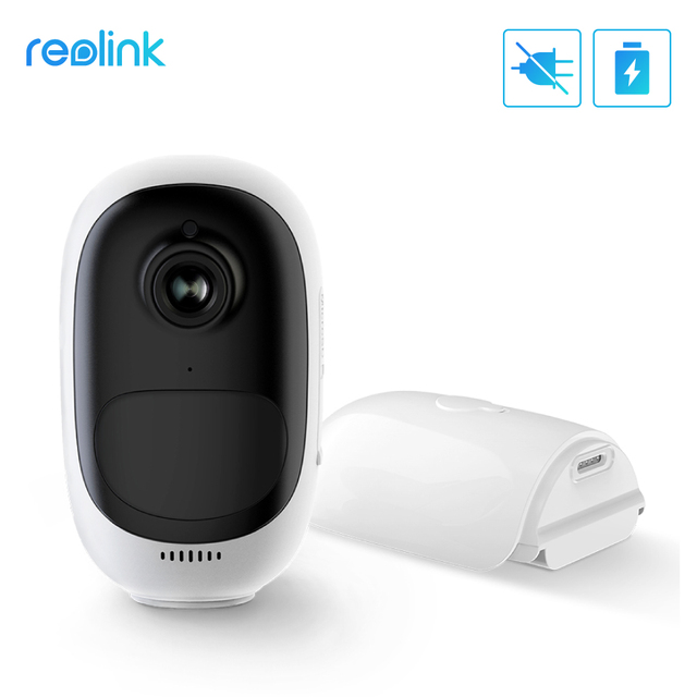 Reolink Argus Pro 100% Wire-Free Battery IP Camera 1080P Outdoor Full HD Wireless Weatherproof Indoor Security WiFi Video Cam