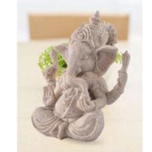 Hand Carved Sandstone Ganesh Statue