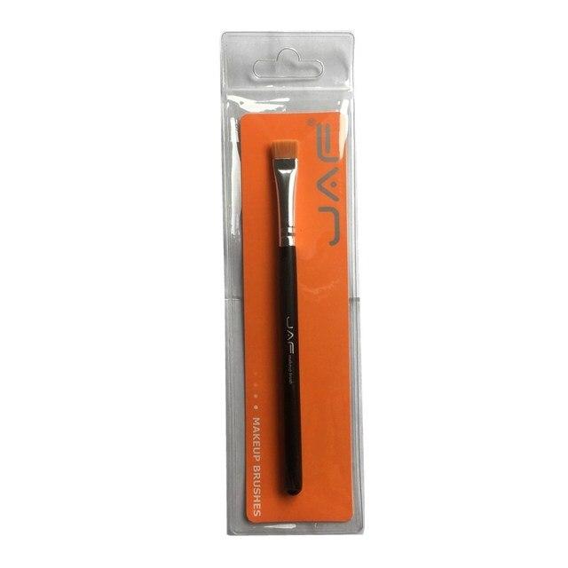 JAF 1 PCS Eye Makeup Brush Flat Eyeliner Eyebrow Blending Beauty Make Up Brush Soft Nylon Hair 3 Colors for Choose 07SHYE 5