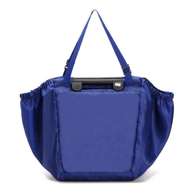 Manufacturers selling large capacity travel receive bag folding supermarket shopping bags environmental protection shopping bag