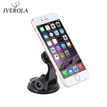 Univerola Car Magnet Holder Windshield Suction Cup Mount Stand GPS Magnetic Phone Universal For Smartphone Bracket