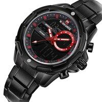 2019 NAVIFORCE часы для мужчин Элитный бренд спорт полный сталь кварцевые часы для мужчин's непромокаемые Военная Униформа наручные часы Relogio Masculino