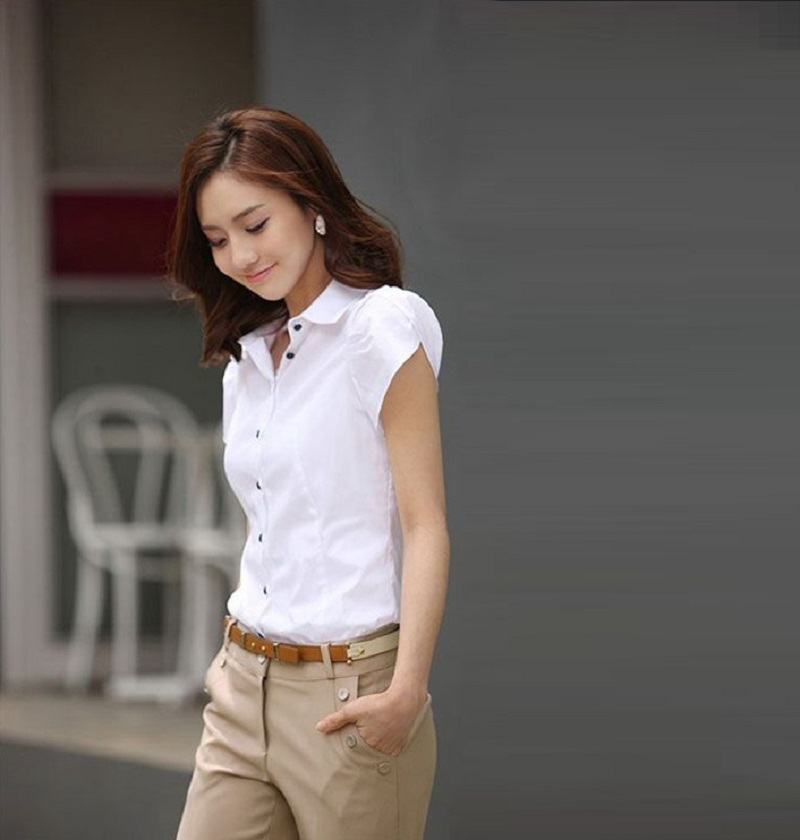 HTB1zcDBKFXXXXbCXpXXq6xXFXXXe - High Quality Fashion Womens short-Sleeve Chiffon Shirt