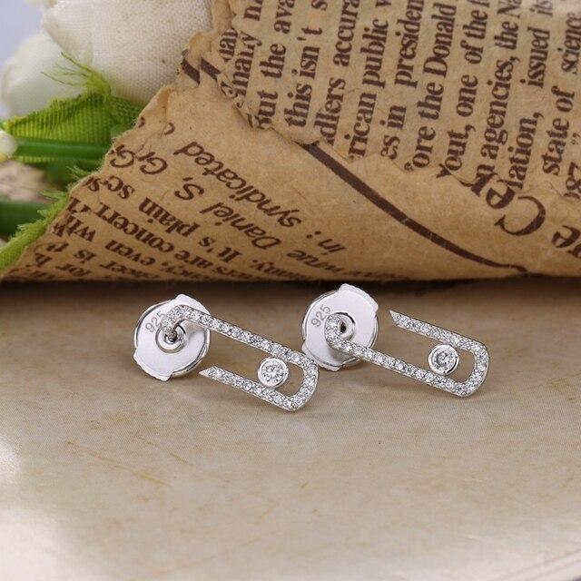 В форме сердца love Мода 925 стерлингового серебра чистой любви