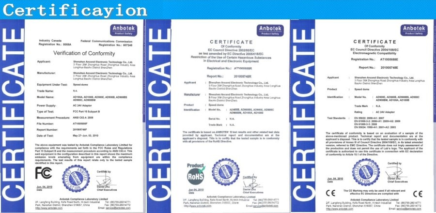certificayion