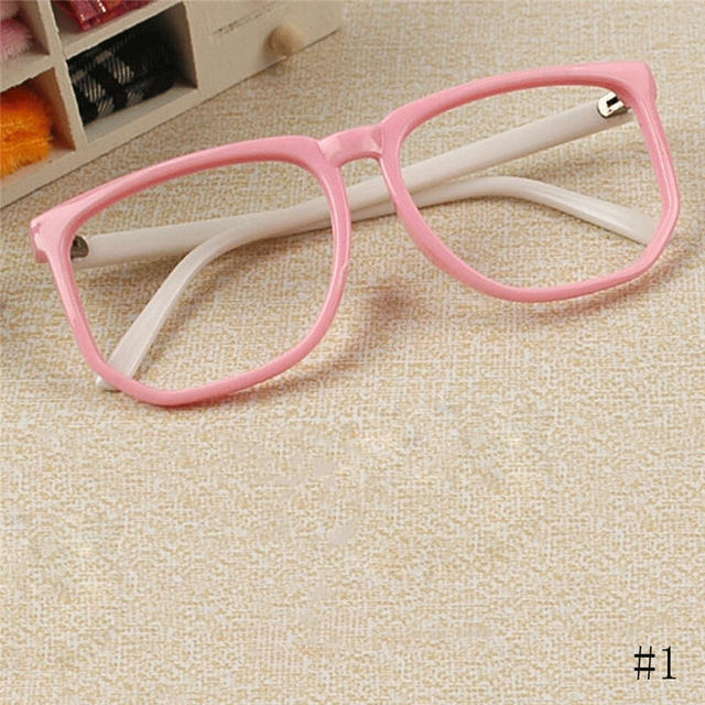 2017 New Children Plastic Glasses Frame Boys Girls Eyewear Frames ...