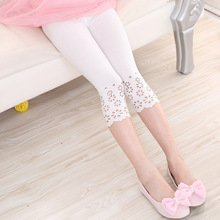 Pants for girls Summer Cotton Korean