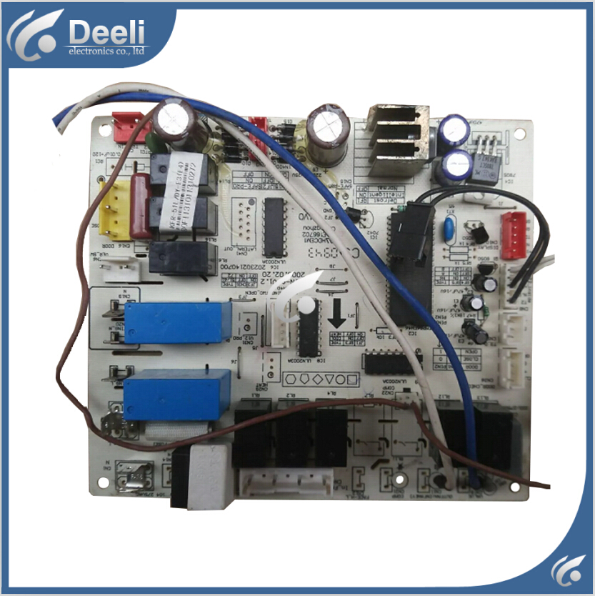 95% new good working for air conditioning board KFR-51L/DY-E3 control board indoor air conditioning parts mpu kfr 35gw dy t1 computer board kfr 35gw dy t used disassemble