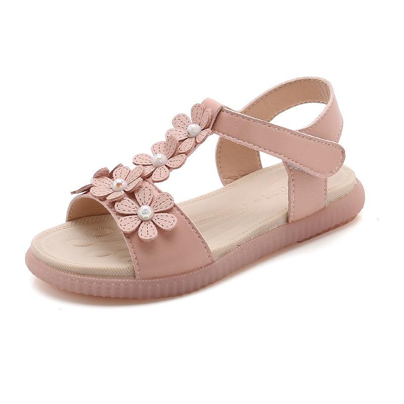 Children Princess Beach Flat Sandals