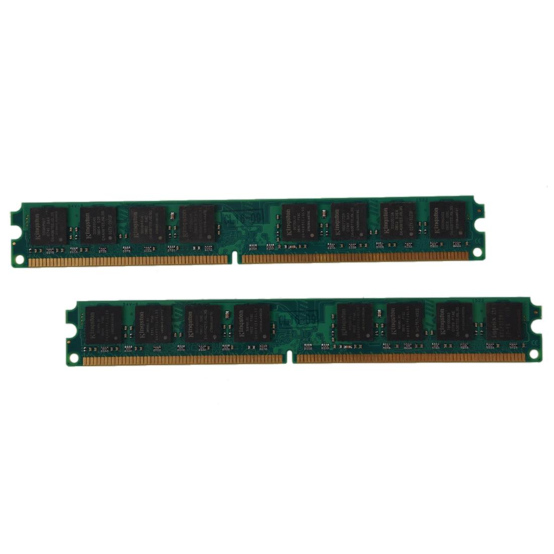 2GB (2X1 GB) DDR2 533 MHZ PC2 4200 240 pines DIMM memoria RAM PC de escritorio NON-ECC Kembona original chips marca PC de escritorio DDR2 1 GB/2 GB/4 GB 800 MHz/667 MHz/533 MHz DDR 2 DIMM-240-Pins escritorio memoria Ram
