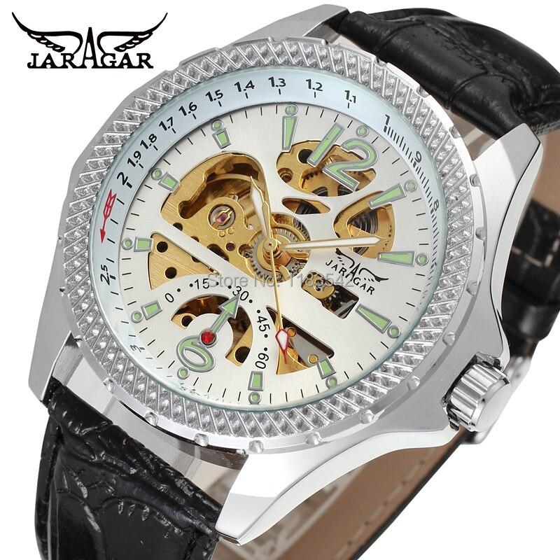 Novos negócios relógios homens Factory Shop Top qualidade automática Men Watch frete grátis JAG8052M3S5