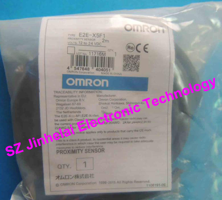 E2E-X5F1  2M BY OMS  New and original OMRON  Proximity sensor,Proximity switch, 12-24VDC new and original e2e s05s12 wc c1 e2e s05s12 wc b1 omron proximity sensor proximity switch 10 30vdc