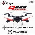 Frete grátis Wltoys pairando Q222G FPV 720 P câmera de ar conjunto de RC Quadcopter RTF