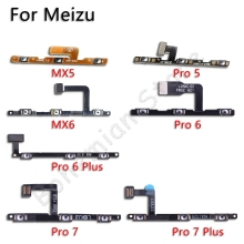 Volume on off Button Power Flex Cable For Meizu MX5 MX6 MX P