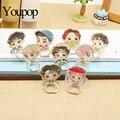 Youpop Kpop K-POP Exo Kai Suho FAZER D.O. COLOCAR CHEN TAO SEHUN Álbum Caso Monstro Dedo Anéis Stand Titular de 360 Graus ZHK