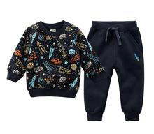 spring autumn baby Sweater Boy winter clothes Sports Suit Children Clothing Kid Sweater fleece baby suit girl clothes