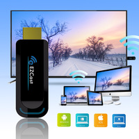 TV Stick Wireless WiFi Display Receiver EZcast HDMI 1080P 5G/2.4G Dual Band Airplay Miracast for YouTube IOS Android Apple