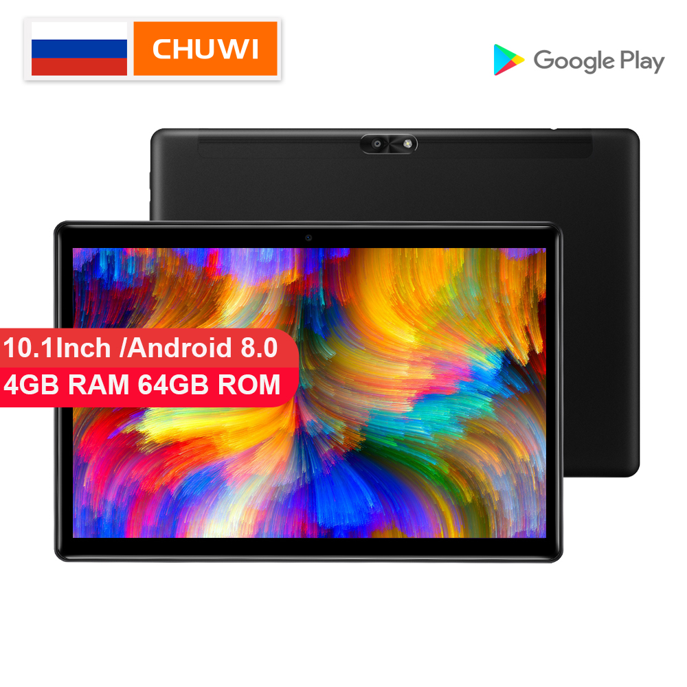 CHUWI Original Hi9 Air Tablet PC Android 8.0 MT6797 X23 Deca Core  4GB RAM 64GB ROM 4G Tablet 2K Screen Dual 8000MAH 10.1 Inch(China)