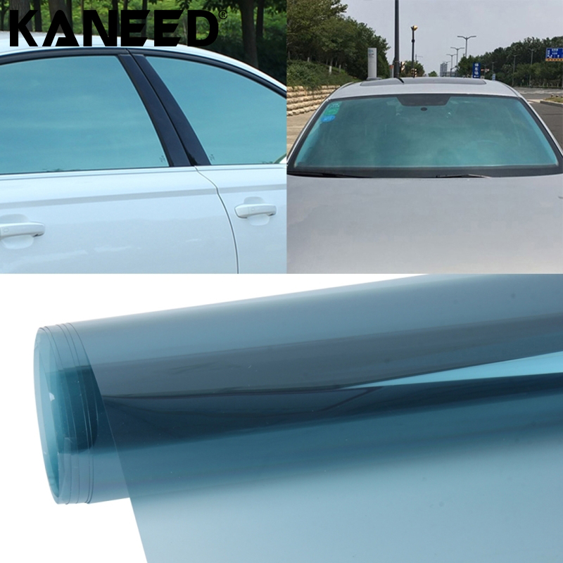KANEED Car Window Tint Film Glass HJ70 Aumo-mate Change Color Anti-UV Cool Vehicle Chameleon Window Tint Film Scratch Sticker 50x152cm safety film 4mil thickness transparent security glass protective tint film for window bathroom glass shatter proof
