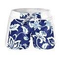 Мужчины шорты Летние Мальчики Прохладный Цветочные Бордшорты Стволы Купальники Одежда для Пляжа