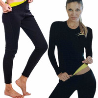 חם הרזיה מכנסיים מעצב Neoprene Slim שומן שריפת ירידה במשקל טבעי מותן מאמן אימון גמילה Neoprene מעצבי גוף חולצה