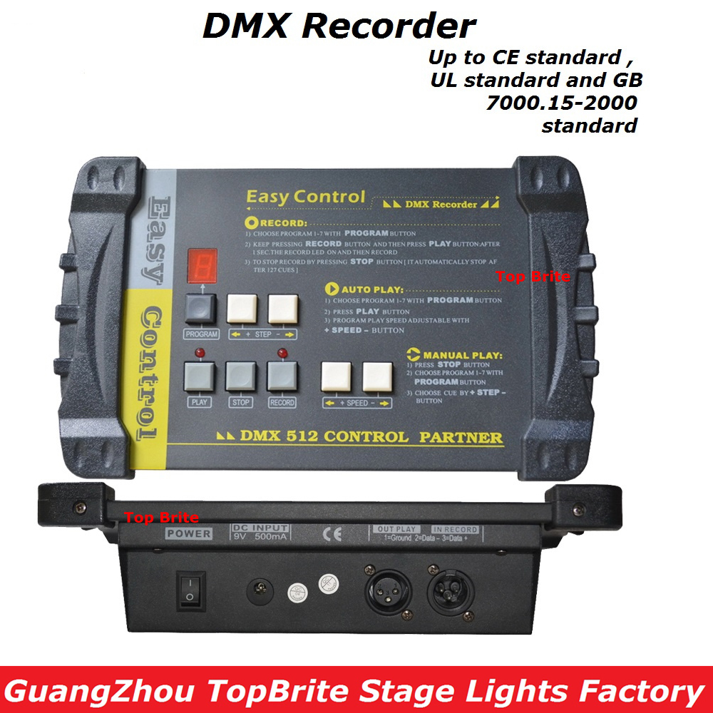 2017 Factory Price High Quality 1Pcs/Lot DMX512 Controller DMX Recorder Easy Console For Stage Dj Disco Lighting Free Shipping стоимость
