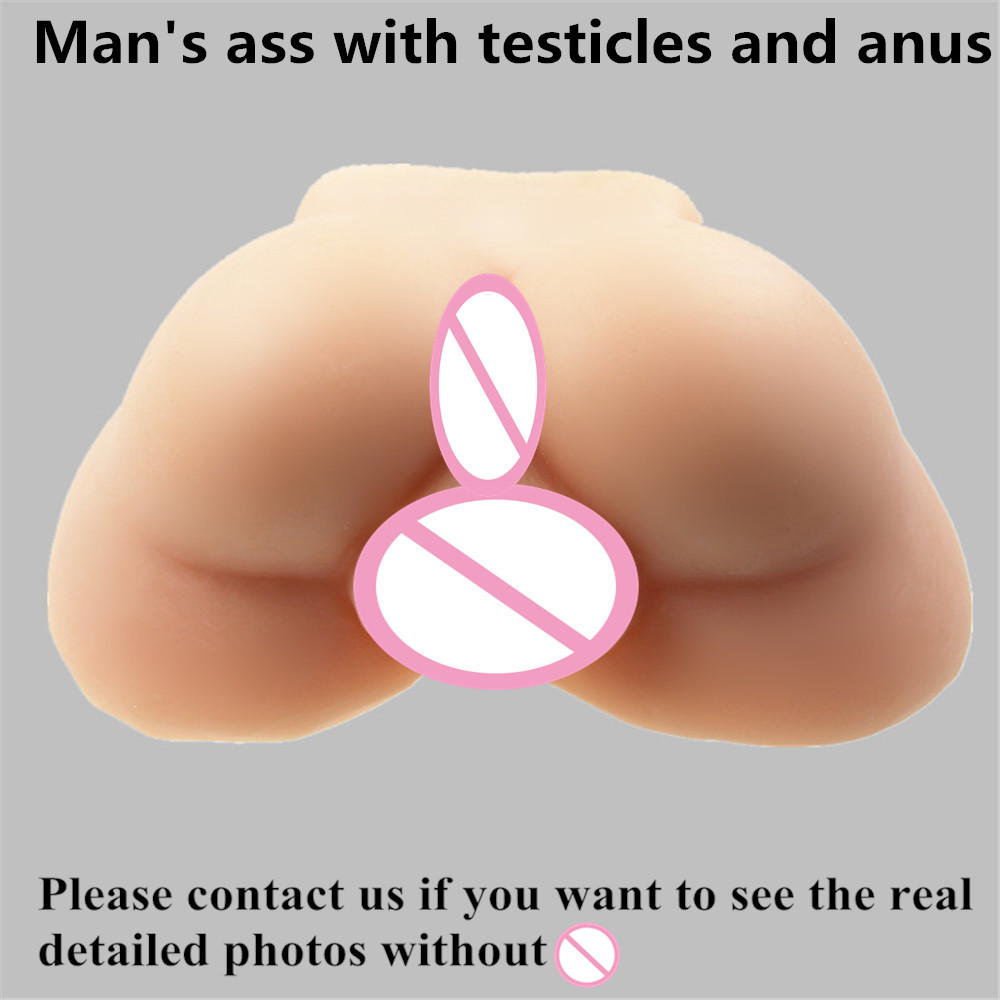 3kg Gay male big ball fake ass real silicone sex dolls lifelike realistic man's ass anus life full size machines porn 2016 new realistic life size 100