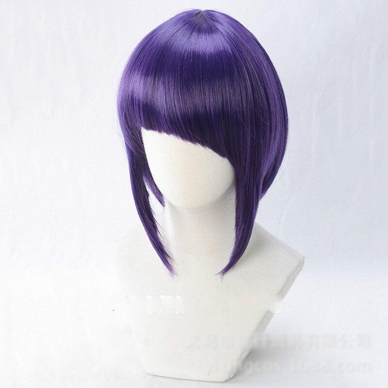 My Boku no Hero Academia Kyoka Jiro Cosplay Purple Wig Costume Halloween Hair