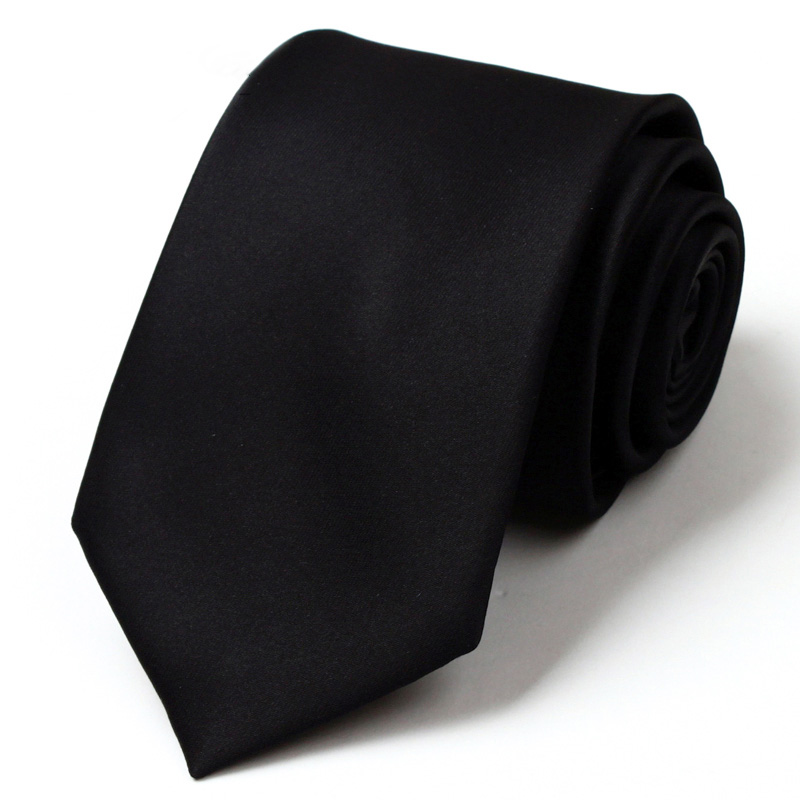 Top Quality  Brand 7CM Fashion Ties For Men Silk Men's Ties Necktie Casual Men Solid Tie  Cravate Free Delivery