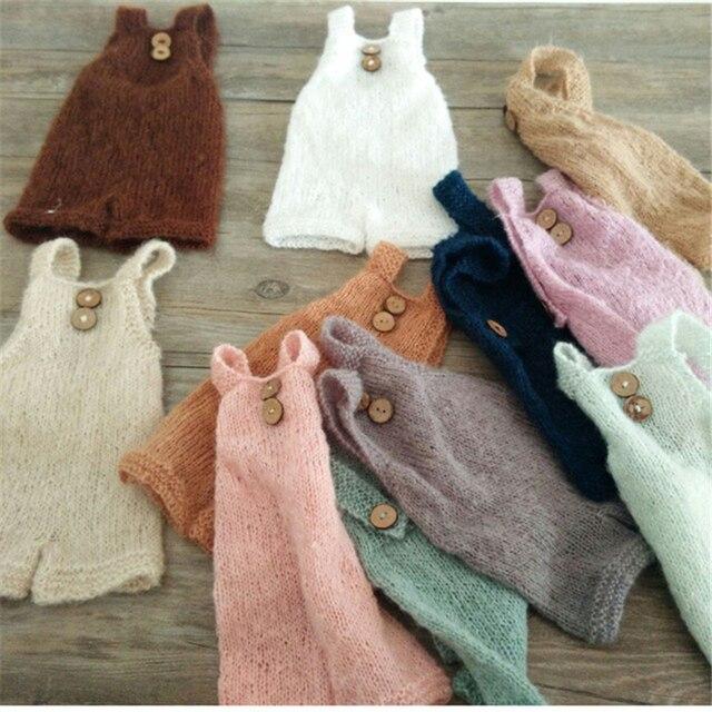 d97a96225 Newborn Photography Props Accessories Infant Soft Bonnet Handmade ...