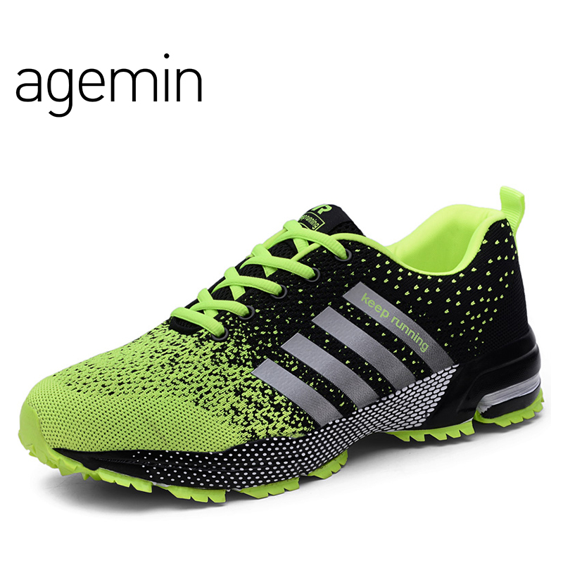 Agemin Summer Fly Weave Camouflage slip on shoes men high quality - Men's Shoes - Photo 4