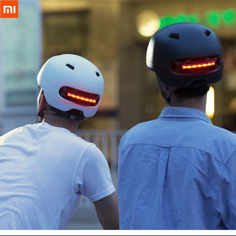 Xiaomi Smart4u bicicleta Flash inteligente cascos hombres mujeres casco de seguridad sombrero trasero LED montaña carretera Scooter IPX4 impermeable-in control remoto inteligente from Productos electrónicos on AliExpress - 11.11_Double 11_Singles' Day 1