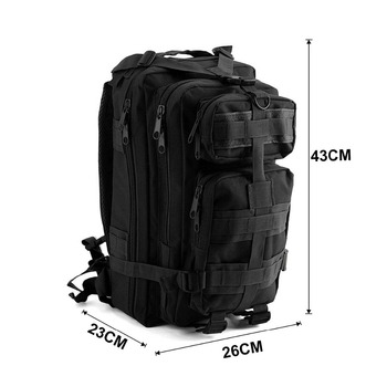 Survival 1000D Nylon Tactical Military Backpack | Waterproof 28L Capacity | Outdoor Camping Hiking