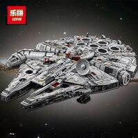 DHL LEPIN 05132 05027 05028 Star 75212 Wars Building Blocks Force Awakens 75105 Millennium Set Falcon Model Toys Kid Gift 75192