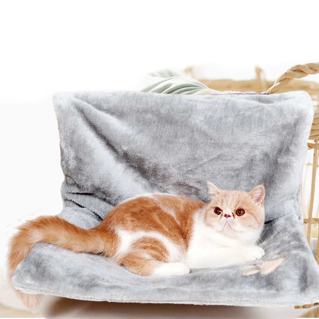 Deluxe Removable Window Sill Cat Radiator Bed Hammock Perch Seat Lounge Pet Kitty Hanging Bed Cosy Cat Hammock