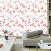 Tuya Art Tuya Cutom 3D printed mural on the wall wholesale flamingo bird for office decor bedroom decoration free shipping