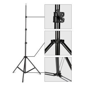 Image 5 - نظام دعم حامل الخلفية 2.6 متر × 3 متر/8.5ft × 10 قدم مع حقيبة حمل لخلفيات موسلينز والورق والقماش