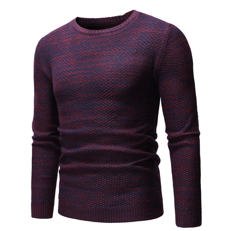 2018 New Autumn Winter Fashion Brand Men Sweaters Pullovers Knitting Wool Warm Designer Slim Fit Casual Knitted Man Knitwear